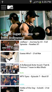 MTV India- screenshot thumbnail