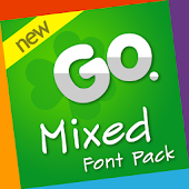 Go Launcher Mixed Font Pack