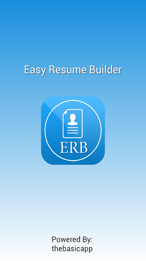 easy resume builder android apps on play