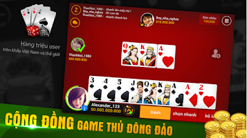 Screenshot of iWin Online - Đánh Bài 2015