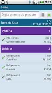 QQFalta - Lista de Compras- screenshot thumbnail