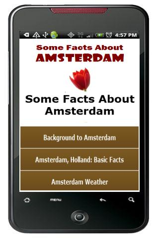 Some Facts About Amsterdam