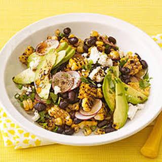 Grilled Corn & Black Bean Salad.