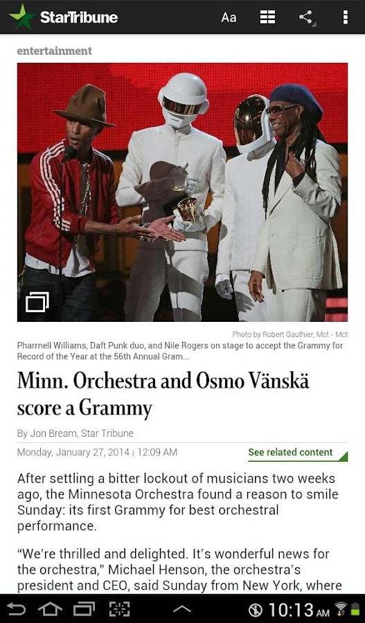 Star Tribune News - screenshot