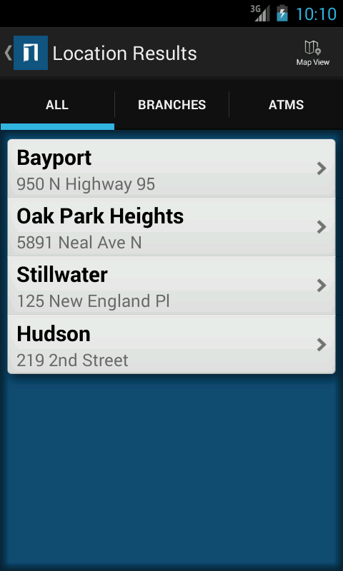 Bayport Bank - screenshot