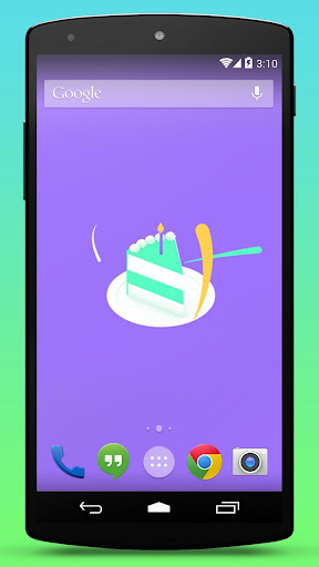 Birthday Cake Live Wallpaper