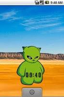 Screenshot of PetDroid Clock