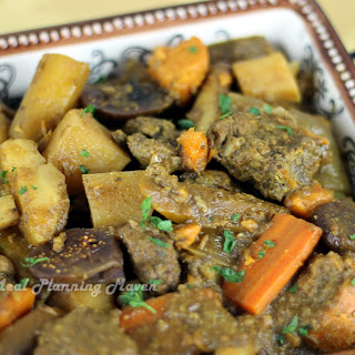 Crockpot Beef Stew with Root Vegetables Recipe