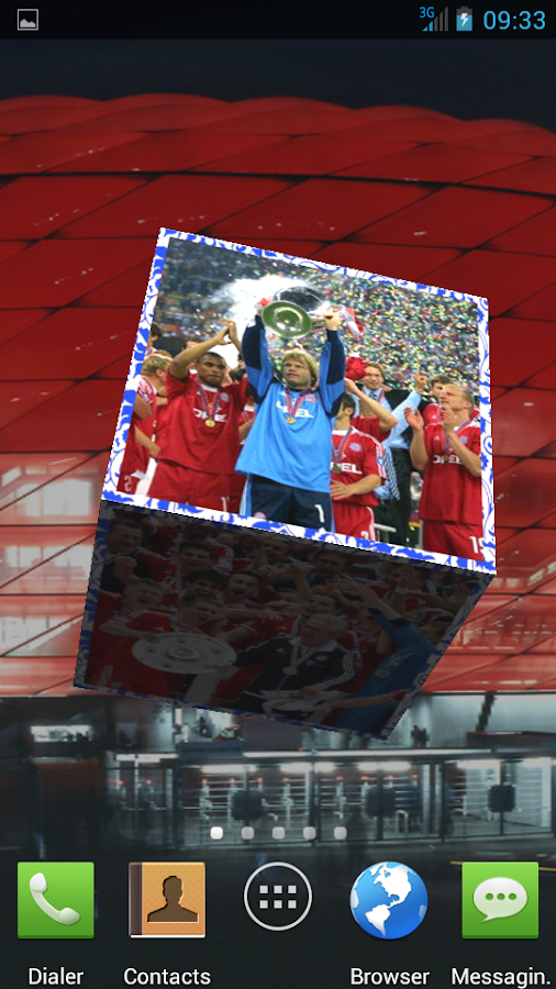 FC Bayern Munich 3D Wallpaper - screenshot