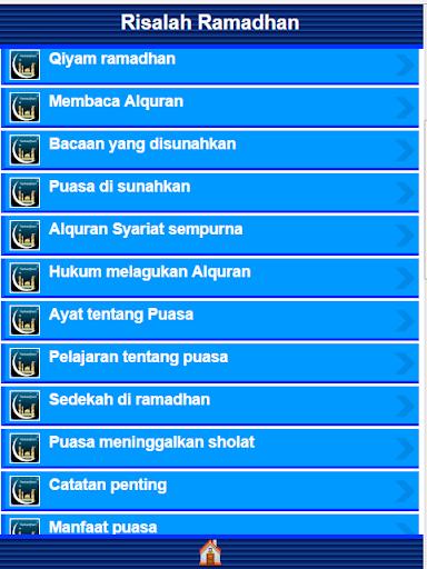 【免費書籍App】Risalah Ramadhan-APP點子