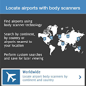 Airports with body scanners