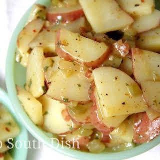 Deep South German Style Potato Salad.