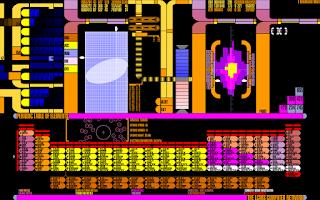 Screenshot of LCARS UI