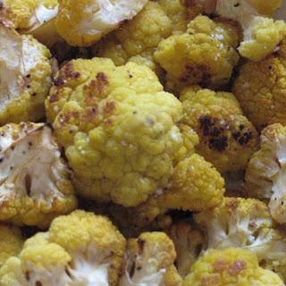 Roasted Golden Cauliflower