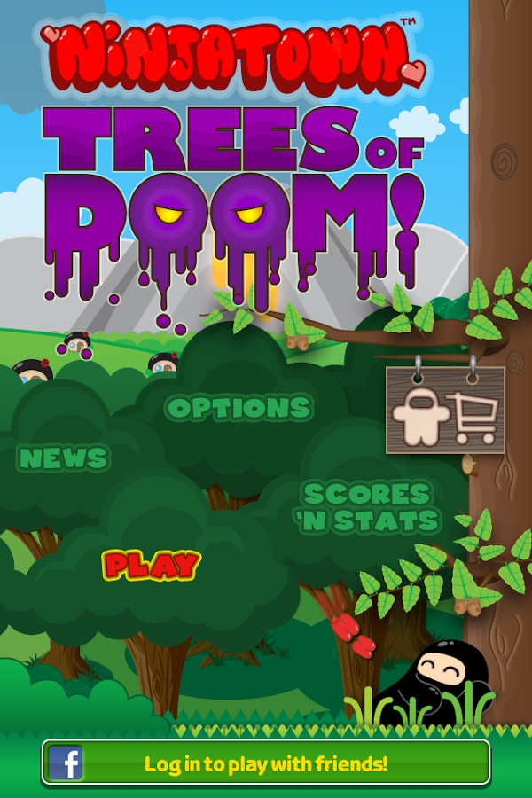 Ninjatown: Trees of Doom! - screenshot
