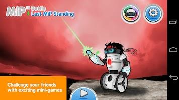 Screenshot of MiP App
