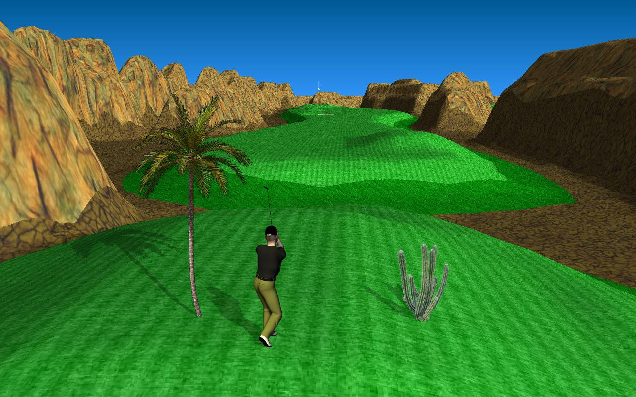 Par 72 Golf HD- screenshot