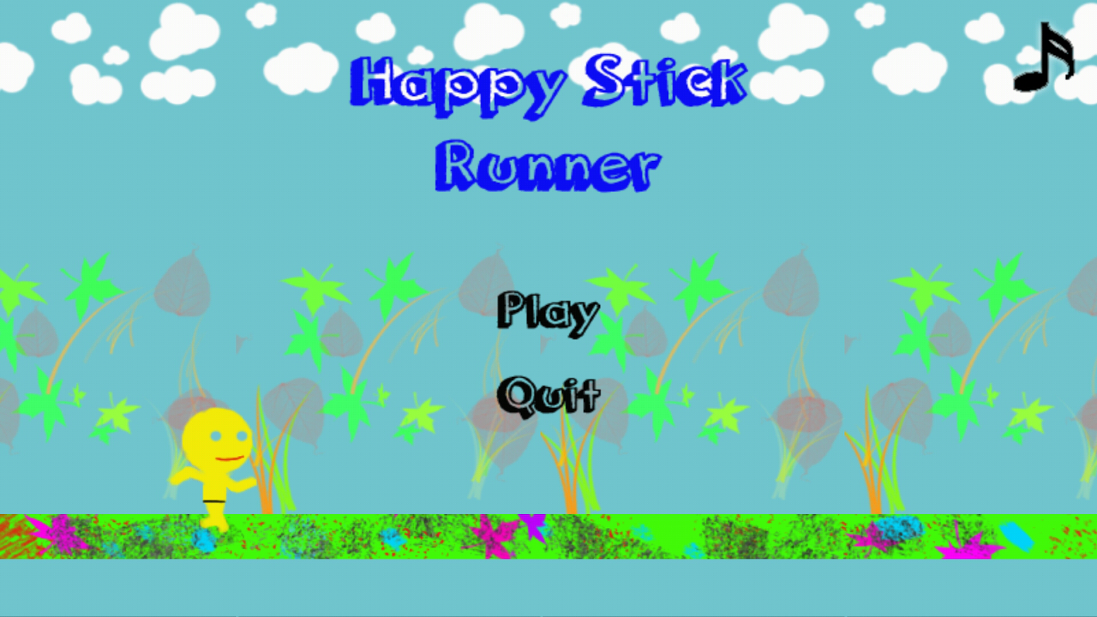 Happy Stick Run- screenshot