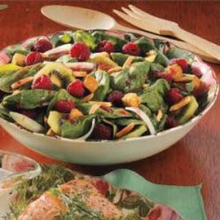 Raspberry Spinach Salad