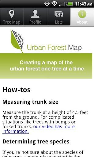 Urban Forest Map