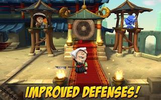 Screenshot of SAMURAI vs ZOMBIES DEFENSE 2
