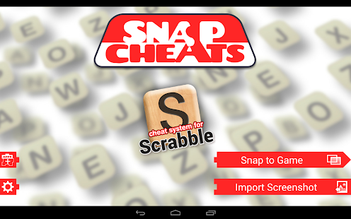 Snap Cheats: Scrabble- screenshot thumbnail