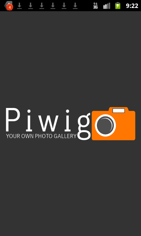 Piwigo- screenshot