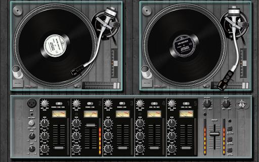 DJ調音台播放器