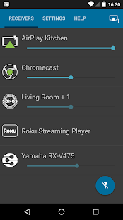 AirPlay DLNA SONOS Chrome Roku - screenshot thumbnail