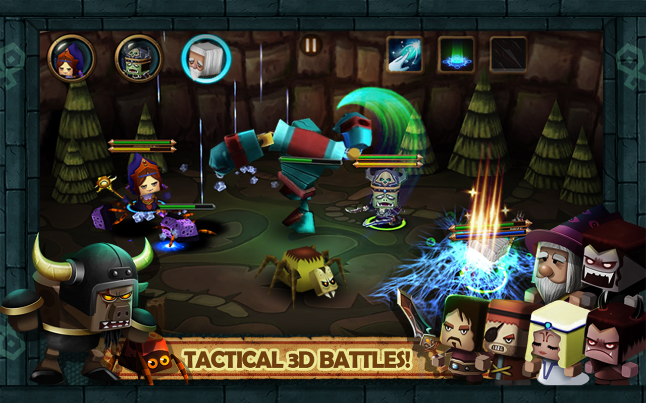 Tiny Legends: Heroes- screenshot