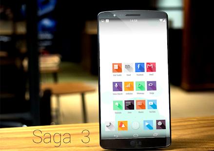 Saga3 metro style - Icon Pack - screenshot thumbnail