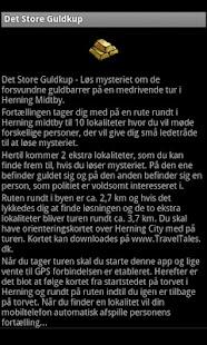 Det Store Guldkup- screenshot thumbnail