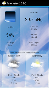 WeatherView Free- screenshot thumbnail