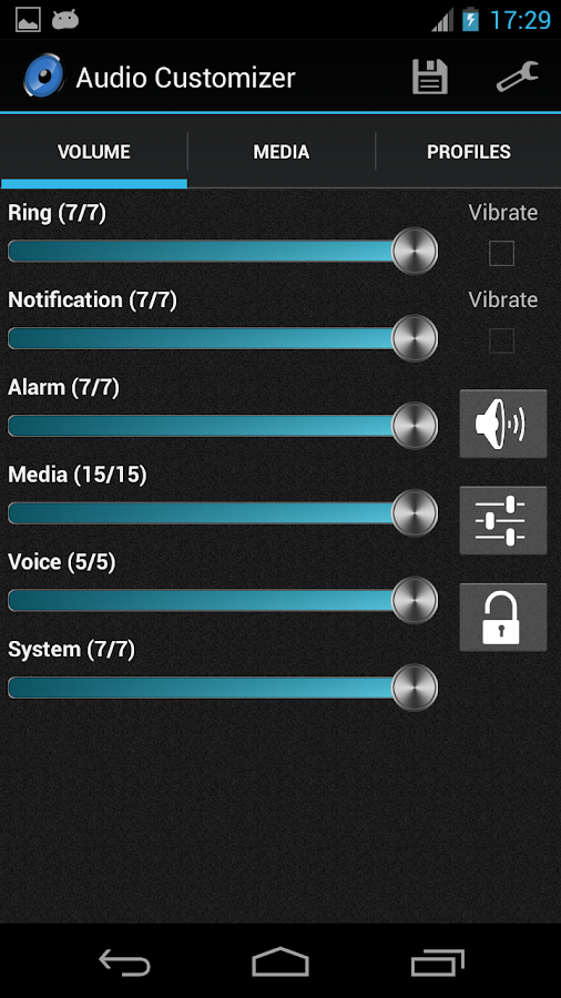 Audio Customizer- screenshot
