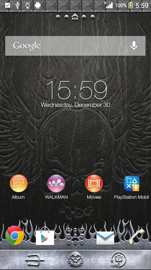 XPERIA™ Headbanger Theme- screenshot