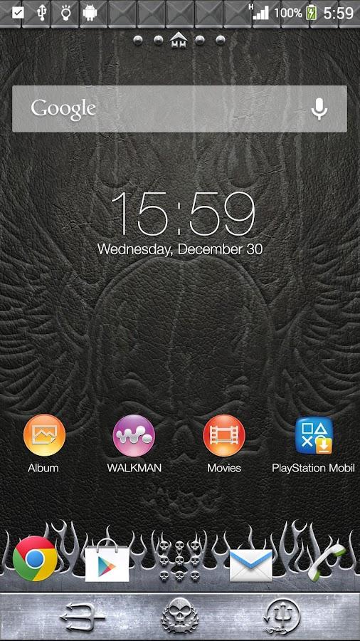 XPERIA™ THEME Headbanger- screenshot