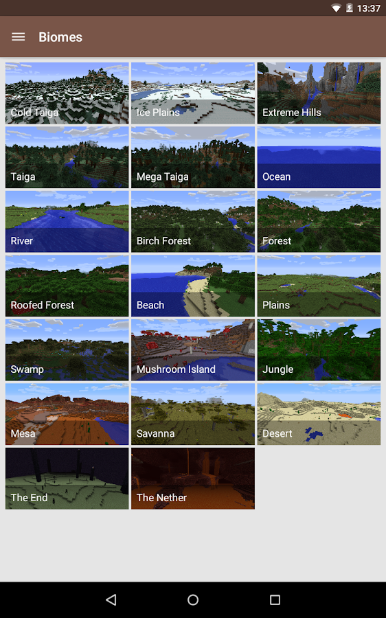 CleverBook for Minecraft - screenshot