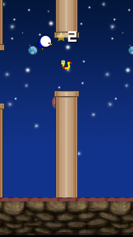 Flappy Space- screenshot