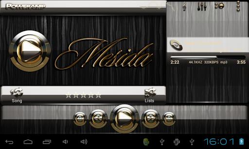 【免費音樂App】Poweramp skin Mesida-APP點子
