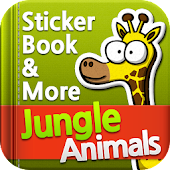 Jungle Animals Sticker Book