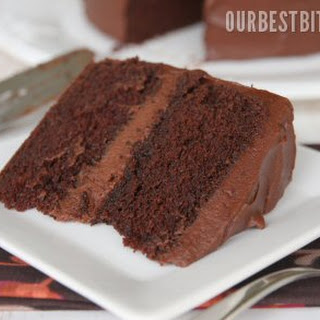 Old-Fashioned Chocolate Layer Cake.