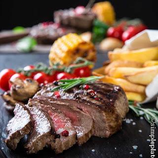 Rib Steak with a Sea Salt Crust