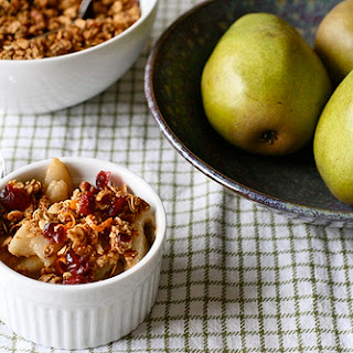 Pear Granola Breakfast Crisp