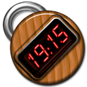 Wooden Digital Clock logo