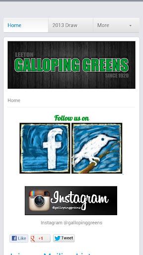 Galloping Greens