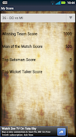 Screenshot of India T20 Cricket Genius