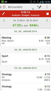 Time Tracking by primaERP – Miniaturansicht des Screenshots