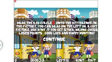 Screenshot of Kids World Of Spot Difference