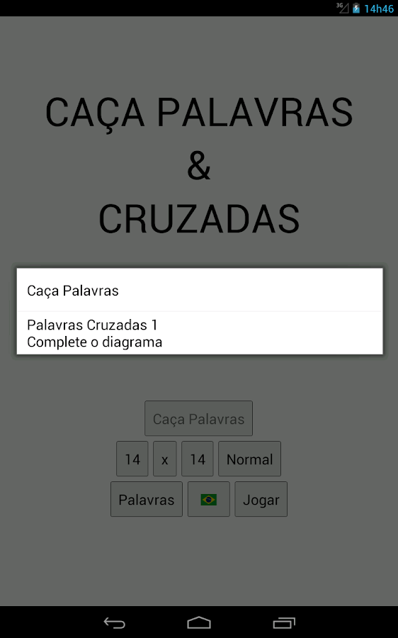 Caça Palavras & Cruzadas- screenshot