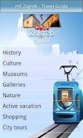 Screenshot of mX Zagreb - Travel Guide